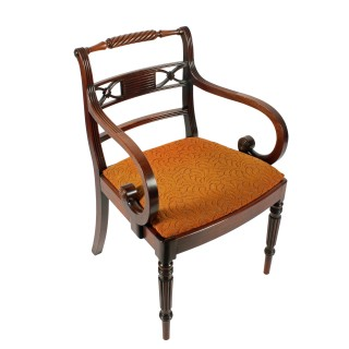 Regency 'Gillows' Design Elbow Chair