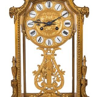 Barbedienne French Mantel clock, circa 1890.