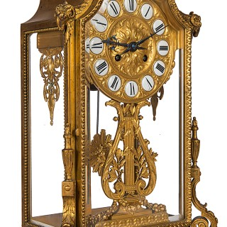 Barbedienne French Mantel clock, circa 1890.