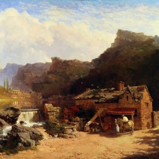 Cox's Mill, Cheddar Gorge