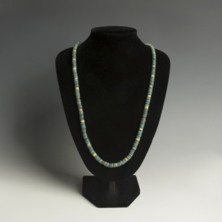 Egyptian New Kingdom Faience Necklace