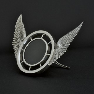 Silver 'Winged Wheel' Frame