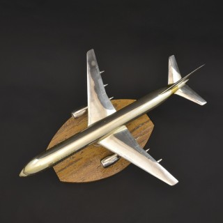 Scale Model Silver Boeing 757-200 Jet Liner