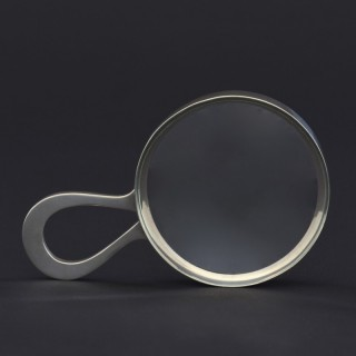 Silver Loop Handle Magnifying Glass