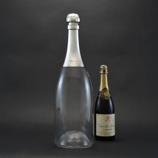 Giant Champagne Bottle Decanter