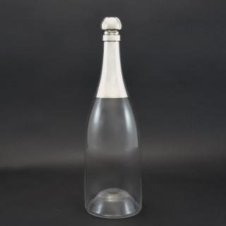 Giant Champagne Bottle Decanter
