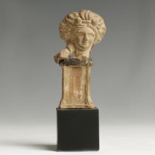 Roman Terracotta Head of a Goddess