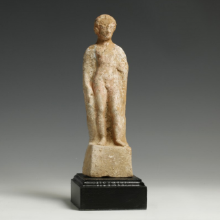 Beotian terracotta Statuette of a Youth