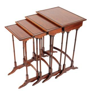 Nest of Four Regency Style Tables