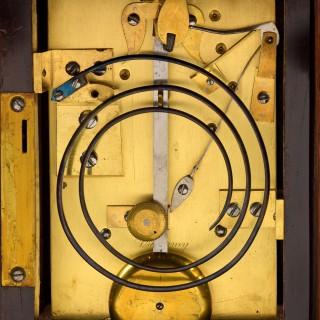 VULLIAMY N° 769. A RARE SMALL ROSEWOOD STRIKING LIBRARY CLOCK.