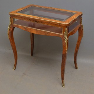 Victorian Display / Bijouterie Table in Rosewood