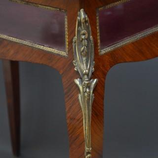 Victorian Display / Bijouterie Table in Rosewood
