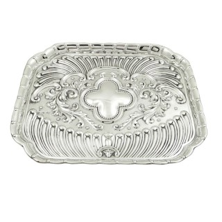 Antique Edwardian Sterling Silver Dressing Tray 1901