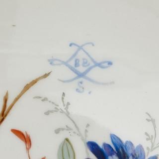 Sèvres style porcelain and gilt bronze jardiniere and vase garniture