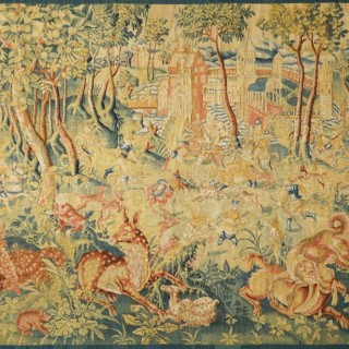 Unique style antique tapestry -