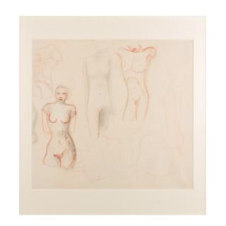 Untitled (Nude Studies) Leon Underwood 1890 - 1975