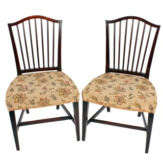 Pair of 18th Century Georgian Chairs