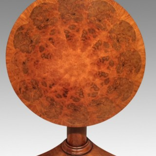 William IV circular mahogany table.
