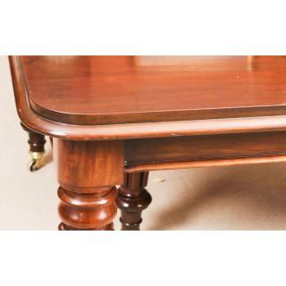 Antique William IV Mahogany Extending Dining Table C1830 19th C