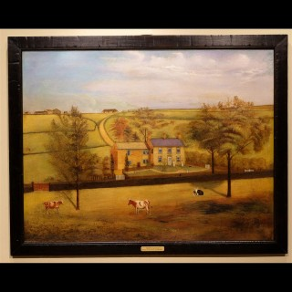 Late 19th Century Oil on Canvas Depicting an English Landscape