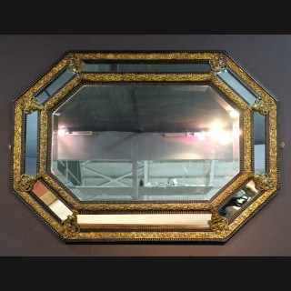 19th Century Flemish Wall Mirror