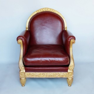 An Art Deco Armchair