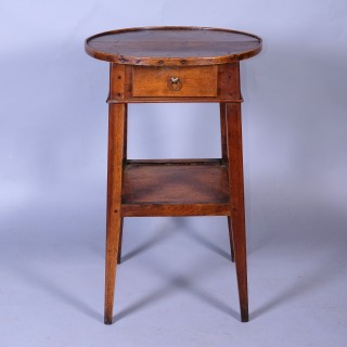 Early 19th Century Walnut Two Tier Table