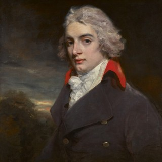 A Portrait by John Hoppner of Sir John Osborn