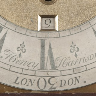 A George II Mahogany Clock in the Manner of William Kent