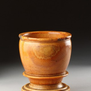 Indo-Portuguese Ivory Apothecary's Mortar