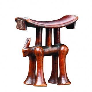 Rare South African Tsonga Zoomorphic Headrest