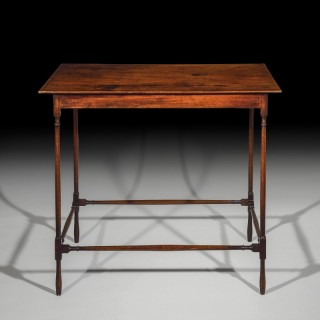 Fine 18th Century Georgian Mahogany Lamp Table