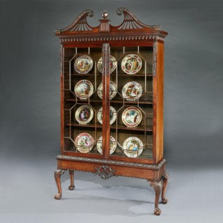A Display Cabinet in the manner of Thomas Chippendale