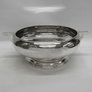 Art Deco Silver Bowl