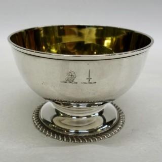 Antique York Silver Bowl