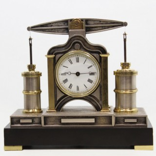 Beam Engine Automaton Clock by Guilmet, c.1880