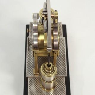 Beam Engine Automaton Clock by Guilmet, c.1880
