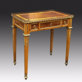 Antique French Neoclassical Writing Table or Desk