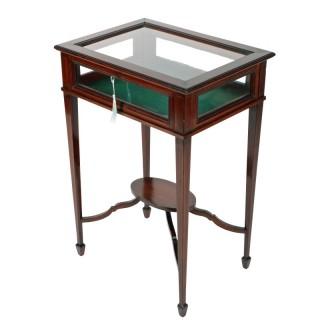 Edwardian Mahogany Bijouterie Table