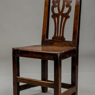 Welsh oak chair