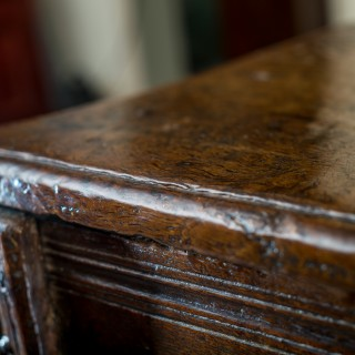 Early Welsh oak chest