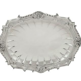 Heavy Antique Edwardian Sterling Silver 10