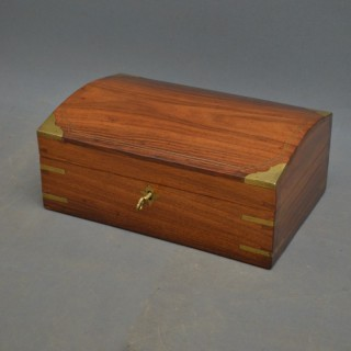 Edwardian Walnut Jewellery Box