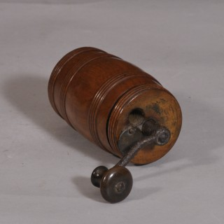 Antique Treen 19th Century Walnut Pepper Mill