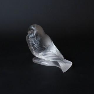 Moineau Fier Glass Bird