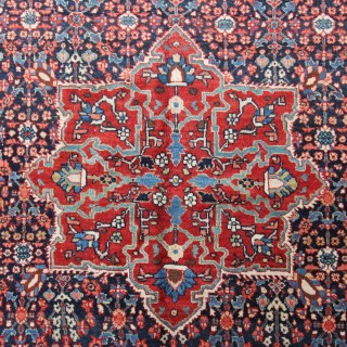 Antique Tabriz carpet