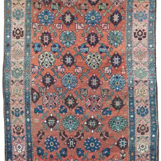 Antique Kurdish rug, Northwest Persia