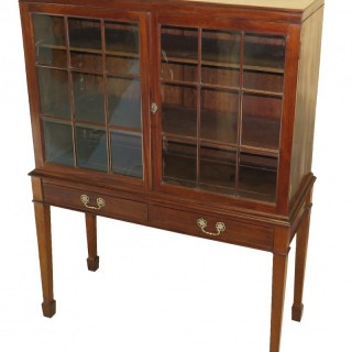 18th Century English Chippendale China Display Cabinet