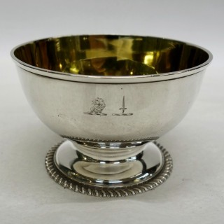 Antique York Silver Bowl