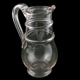 Georgian Glass Water Jug